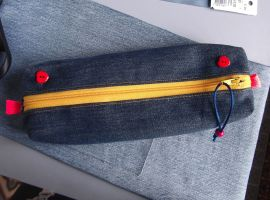 Trousse ado denim