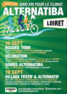 affiche Alternatiba Loiret