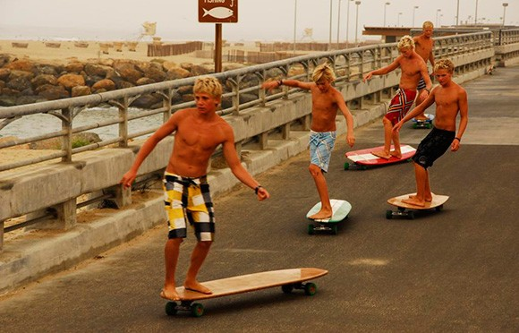 Hamboards-combines-skateboard-and-surfing